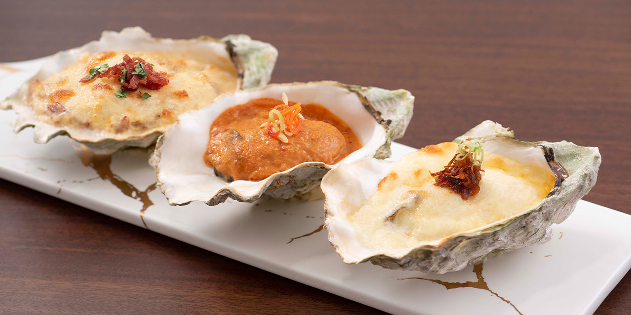 alva-offers-dining-opening-lunch-buffet-baked-oyster-trio